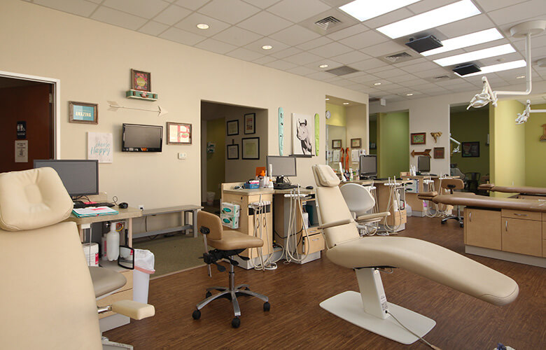 Stte of the art dental exam room